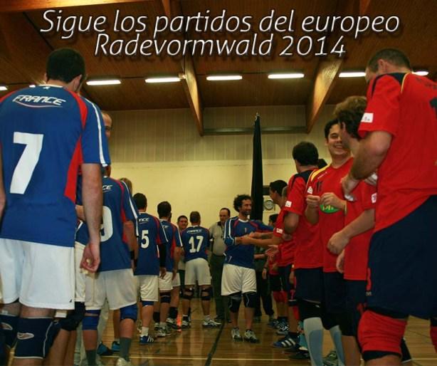 Sigue a España en el europeo de Radevormwald